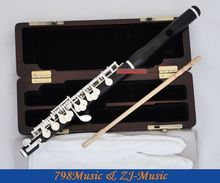 Professional Concert Piccolo-Silver Plated-Grenadilla Black Wood Wooden Ebony