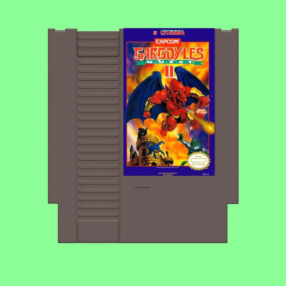 Best Sale Gargoyles Quest II Game Card For 72 Pin 8 Bit Game Player