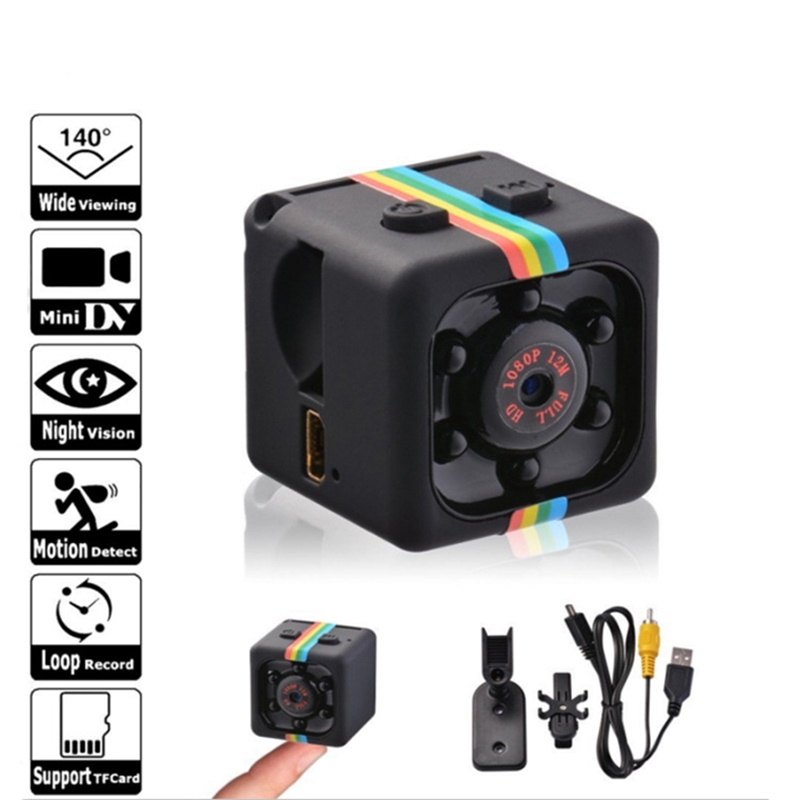 3 Color Mini Camera HD 1080P Sensor Night Vision Camcorder Motion DVR Micro Camera Sport DV Monitor Security Video Ip Camera