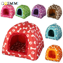 Warm Cat House Cave Home Pet Bed Dog Soft Puppy Cushion Mat Sofa Fit Small Cats Dogs
