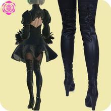 NieR Automata YoRHa font b cosplay b font shoes