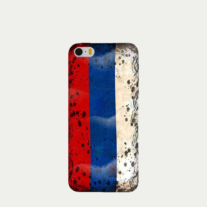 2016 Fashion Russian UK USA Flag phone cases for Apple iPhone 4 4s case luxury hard shell for iPhone4 cover