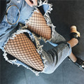 2017 Sexy Mesh Fishnet Tights Stockings Black Hollow Out Fishnet Mesh Pantyhose Female Hosiery Club Party Women Tights