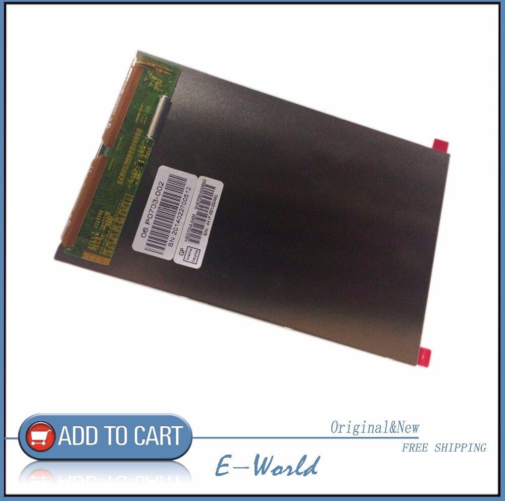 ᗔالأصلي والجديد 7 بوصة 40pin lcd شاشة HE070IA-04M HE070IA-04