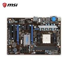 MSI A55-G35 D'origine Utilisé De Bureau Carte Mère A55 Socket FM1 DDR3 SATA2 USB2.0 ATX