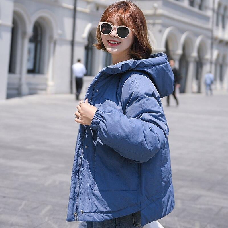 Winter jacket Women puffer jackets Hooded Warm Coat Cotton Padded Female Parka Womens Plus Size women winter clothes coats