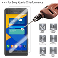 2.5D 0.26mm 9H Premium Tempered Glass For Sony Xperia X Performance F8131 F8132 Screen Protector Toughened protective film *