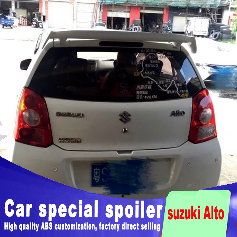 2005-2015 high quality ABS material For suzuki Alto style spoiler for big High hardness spoilers by primer or DIY color paint 2005 2006 2007 2008 2009 2010 for hyundai sonata rear trunk roof wing spoiler abs material high quality by primer or diy paint