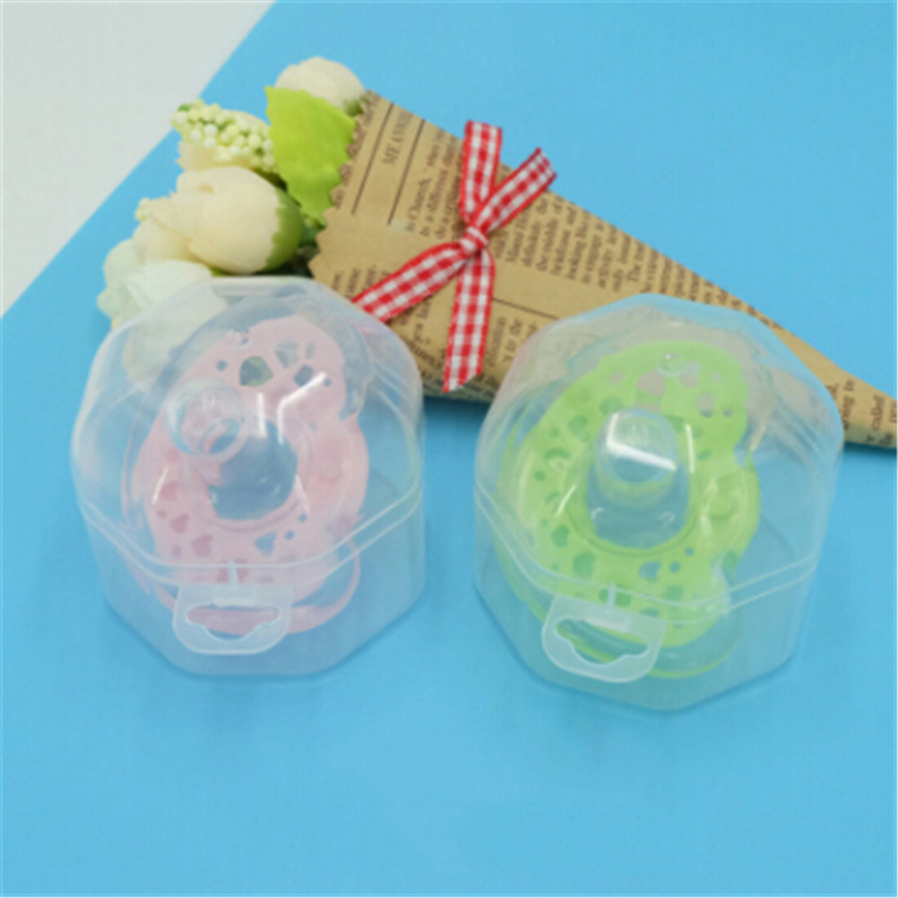 2PCS Baby Travel Soother Pacifier Dummy Storage Case Box Cover Holder Protable