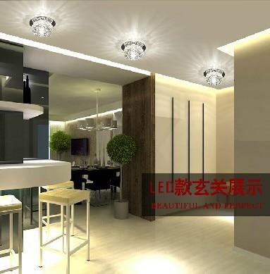 Colorpai Modern LED Ceiling Spotlights 3W Crystal Balcony Hallway Living  Room Lamp Abajur Luminaria Light Fixtures AC220 240V