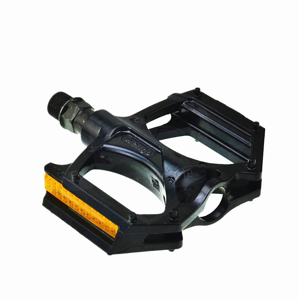1 x PAIR OF WELGO BIKE BICYCLE PEDALS BLACK BMX MOUNTAIN BIKE 9//16/""
