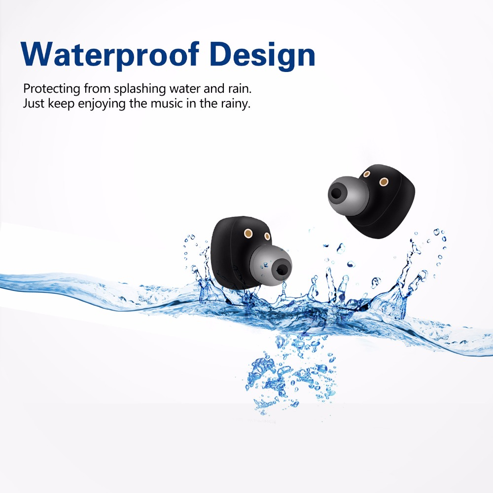 S2 Bluetooth Earphones Mini TWS Earbuds IPX7 Waterproof True wireless with Power Bank