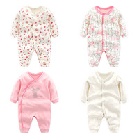 Infant Clothes Autumn Baby Romper 100 Cotton Sleepwear Newborn Clothes