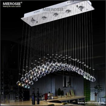 Хит! Современный хрустальный потолочный светильник прямоугольная штора Кристалл lampara techo lustre лампа для столовой конференц зала