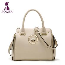 FOXER2016 new high-end luxury fashion leather shoulder Messenger Bag 100% high-quality brand-name brand women