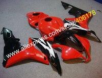 Hot Sales,Popular Kit For Honda CBR600RR F5 2007 2008 CBR 600 RR 07 08 Red Black Motorbike Bodywork Fairings (Injection molding)
