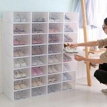 DIY 1 сетчатая коробка для обуви, разделитель ящика для хранения дома, складная коробка для обуви, пластиковая коробка для хранения обуви, органайзер для ящика, для дома