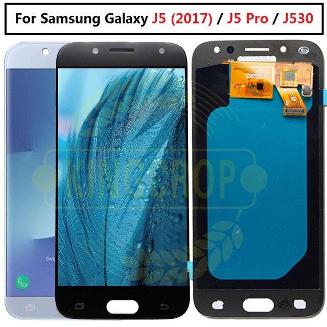 """OLED per SAMSUNG GALAXY J5 2017 LCD J530 J530F J530FN SM J530F Display Touch Screen di ricambio per 5.2 """"SAMSUNG J5 Pro LCD"""
