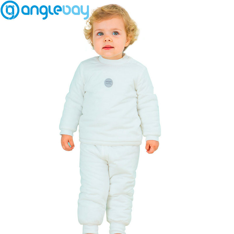 Anglebay Baby Girl Clothing Sets for Winter Cotton Kids Newborn Baby Boy Clothes Long Sleeve Newborn Two Piece Set Top and Pants children s suit baby boy clothes set cotton long sleeve sets for newborn baby boys outfits baby girl clothing kids suits pajamas