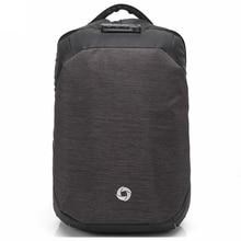 15,6 zoll Männer Rucksack Usb-gebühren Rucksäcke Passwortsperre Laptop Taschen Lässig diebstahl Wasserdichte Umhängetasche mit Regen abdeckung