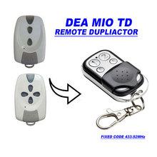 Duplicator for DEA MIO TD 2/4 replacement remote control