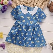 BibiCola  Summer Baby Dress Casual Style Baby Girls Dress Hi