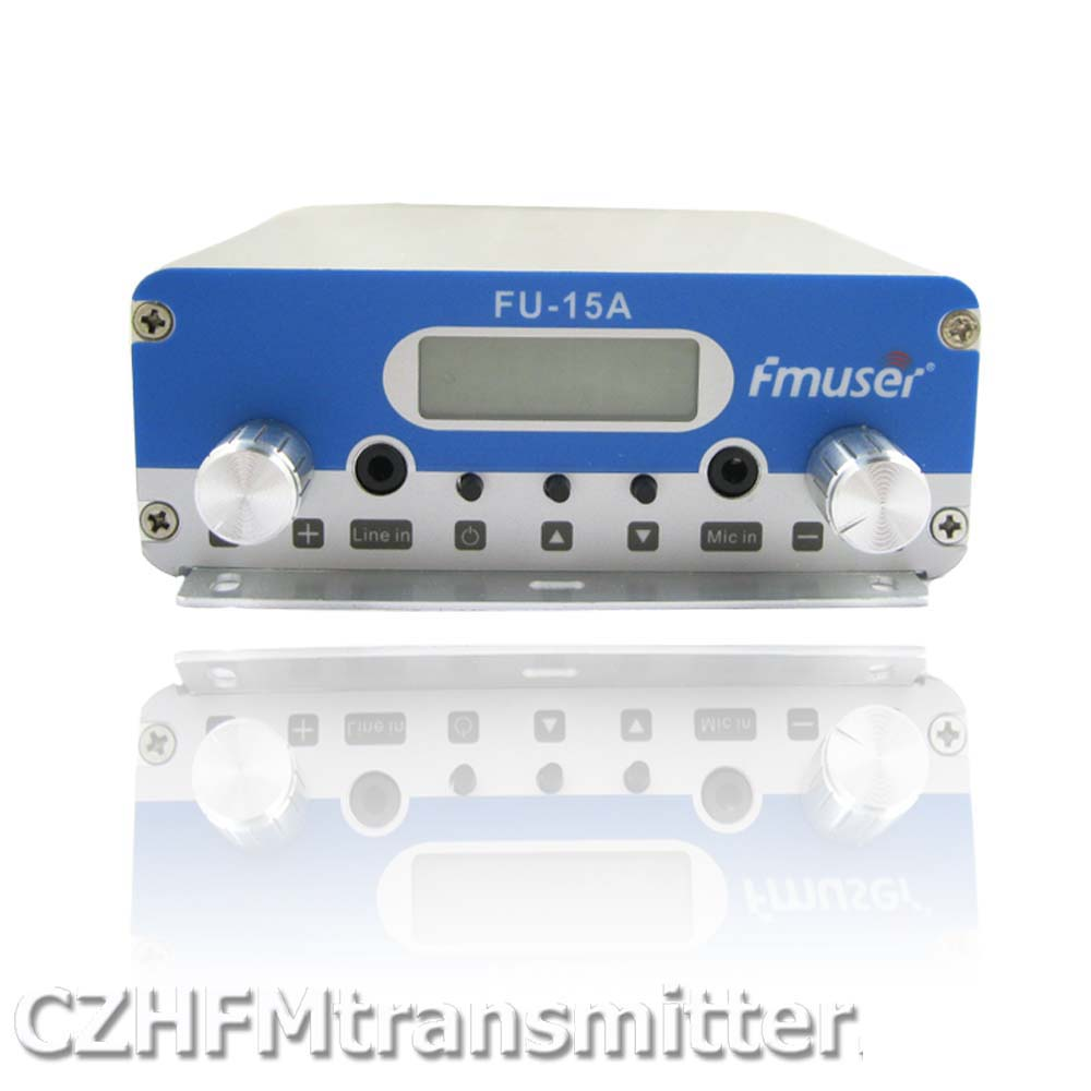 Fmuser Fu-15a 15w V1.0 Fm Stereo Pll Broadcast Transmitter 87.5-108mhz Low Price Radio & Tv Broadcast Equipments