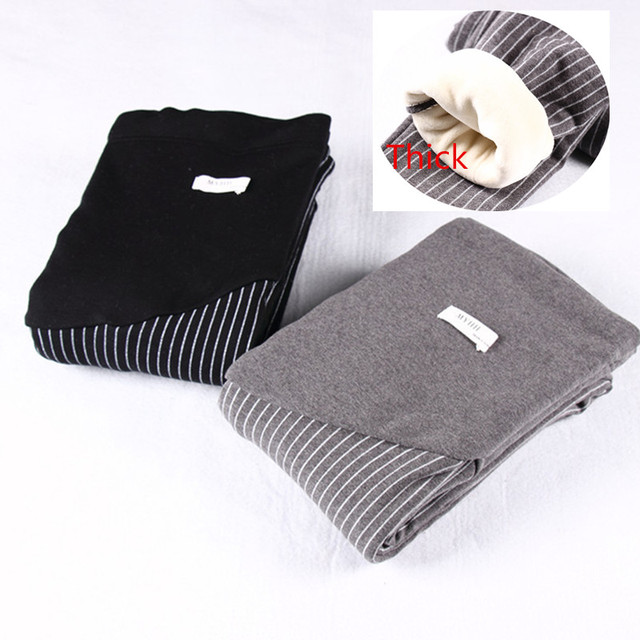 Spring winter new arrival maternity trousers 100% cotton plus thickening winter pants maternity belly pants Pregnant Pant