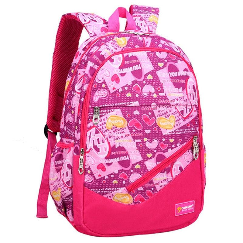 RUIPAI Children cute Backpacks for Boys Girls Primary school bags printing  travel package Lighten Burden On Shoulder Breathable 3357af4edd