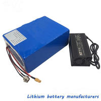36V15ah lithium battery 18650cell +charger for electric scooter bicycle tricycle MTB electric wheelchair conversion repair part