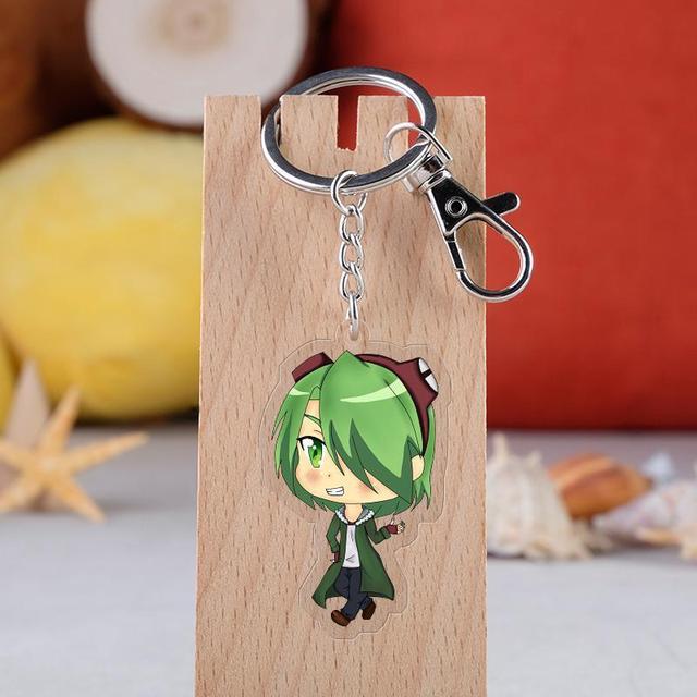 Akame Ga Kill Acrylic Figure Car Key Chains Holder