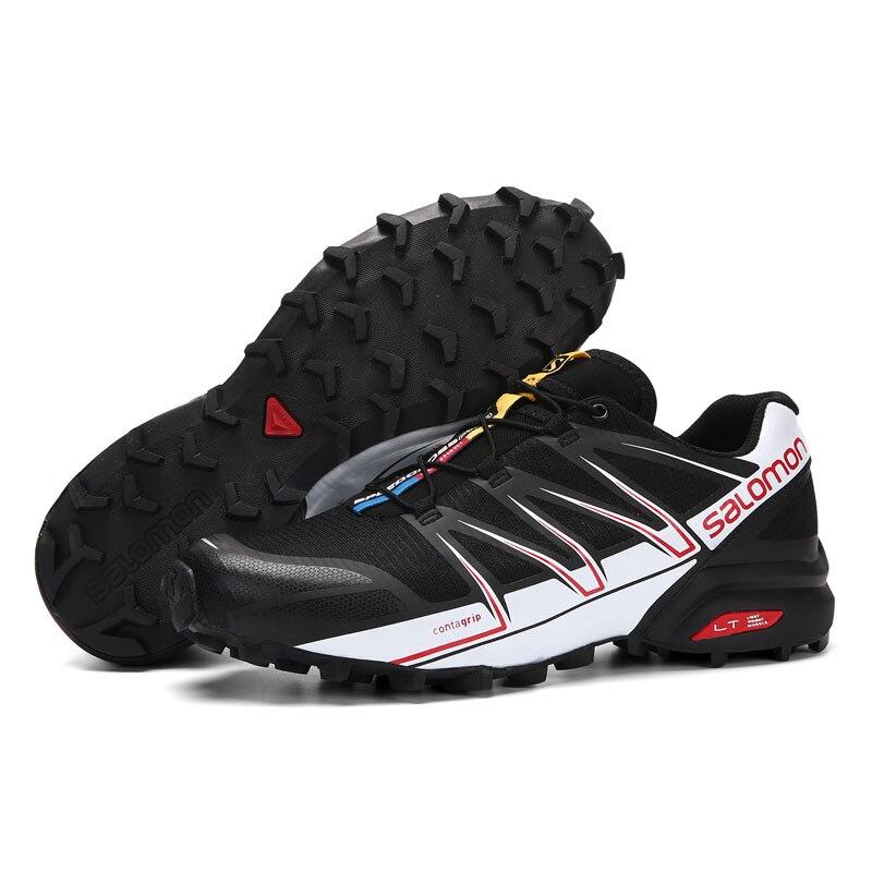 Uomo Salomon Speedcross 4 w Trail Runner Sport All'aria Aperta Antiscivolo Indossabile Trail Corsa e Jogging Velocità Scarpa croce v eur 40-46