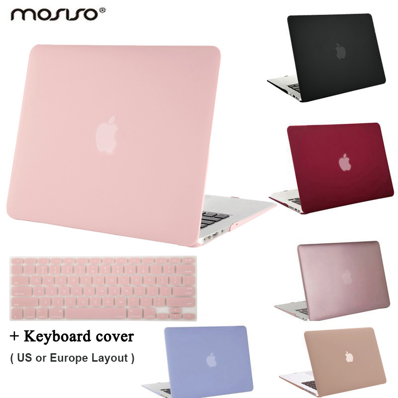 MOSISO for Macbook Pro13.3 դյույմ Pro Retina 13 Matte Plastic Hard Case Cover for New Mac գրքի Air 13 2018 Laptop Shell Air13 2017