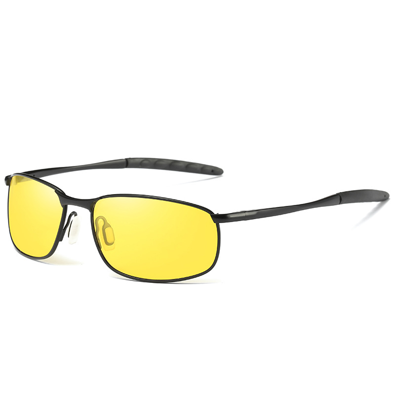 DANKEYISI Male Sunglasses Polarized Square Metal Driver Men Sunglassses Retro Sun Glasses For Men Women 2017 Free Box Bag
