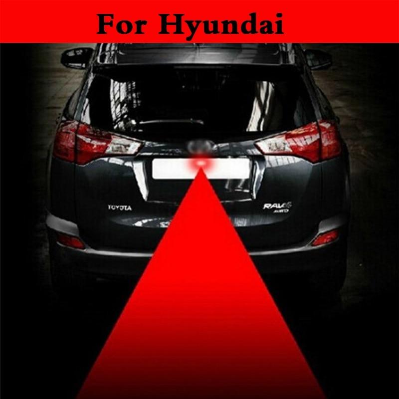 new Car Style Laser Tail 12V LED Fog Light Auto Brake Parking Lamp For Hyundai Getz Grandeur i10 i20 i30 i40 Maxcruz Veracruz XG
