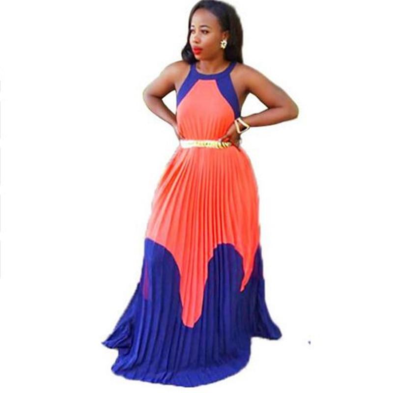 Popular Orange Maxi Dress-Buy Cheap Orange Maxi Dress lots from ...