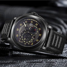 цена на 2019 Newest Issue Mens Watch 44mm Parnis Black Dial Top Brand Luxury Automatic Movement Watches PVD Case Mechanical Wristwatches