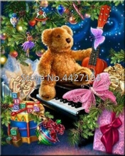 New Full Square 5D DIY Diamond Painting Christmas gift bear Icon 3D Cross Stitch Crystal mosaic Decoration