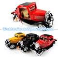 1 : 36 metal antique retro Classic cars tire hacia atrás juguete de los coches modelo, juguetes para niños mejores productos, envío gratis