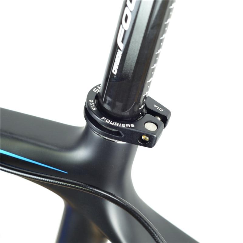 New KREX CNC Chain Catcher Clamp For ROAD /& MTB 31.8mm BLACK