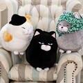 Atacado 30/40 cm Big cara do gato Da Boneca de Pano Boneca buceta gato de brinquedo de pelúcia crianças gato Gordo boneca animais presente de aniversário Para Crianças Brinquedos para Crianças