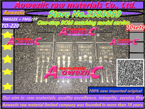 Image 1 - 100% חדש מיובא המקורי Aoweziic FMG22R כוח מגבר FMG22R FMG22S TO 220F התאוששות מהירה דיודה (1 סטים)