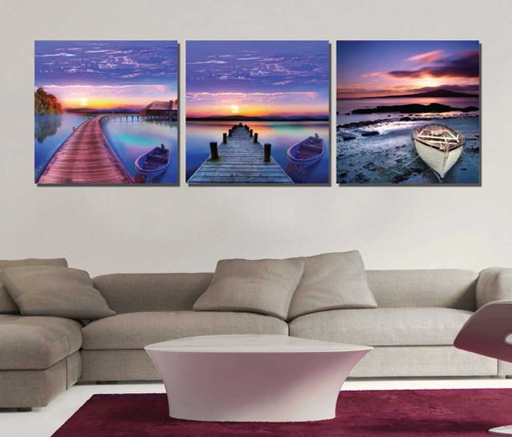 online shop 3 pieces free shipping picture paint on canvas prints
