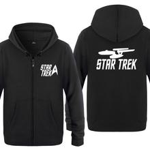 Spring Autumn Star trek Clothes Informal Sweatshirts Hoodies Unisex Jacket Coat