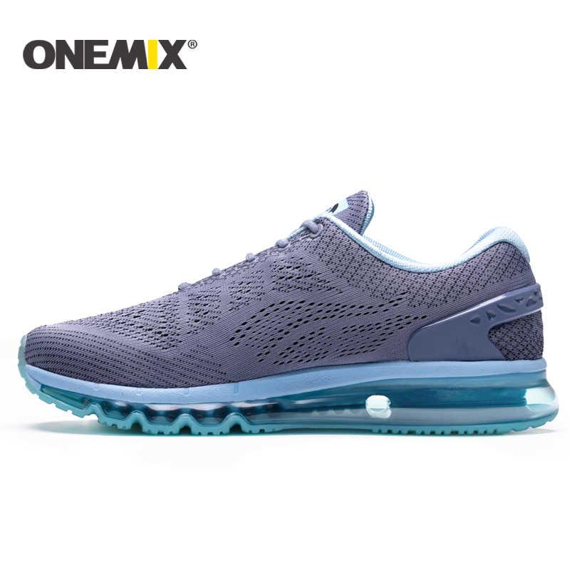 Onemix جديد الرجال احذية الجري تصميم فريد تنفس أحذية رياضية النساء الذكور رياضية في الهواء الطلق أحذية رياضية الرجال zapatos دي hombre