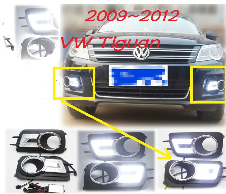 LED,2009~2012 Tiguan day Light,Tiguan fog light,Tiguan headlight,sharan,Golf7,routan,polo,passat,Tiguan Taillight,Tiguan L tiguan taillight 2017 2018year led free ship ouareg sharan golf7 routan saveiro polo passat magotan jetta vento tiguan rear lamp