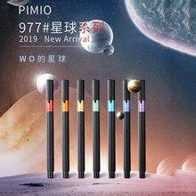 새로운 피카소 977 별 만년필 pimio PS 977 iridium extra fine nib 0.38mm 금융 비즈니스 학생 잉크 펜 쓰기 선물 펜