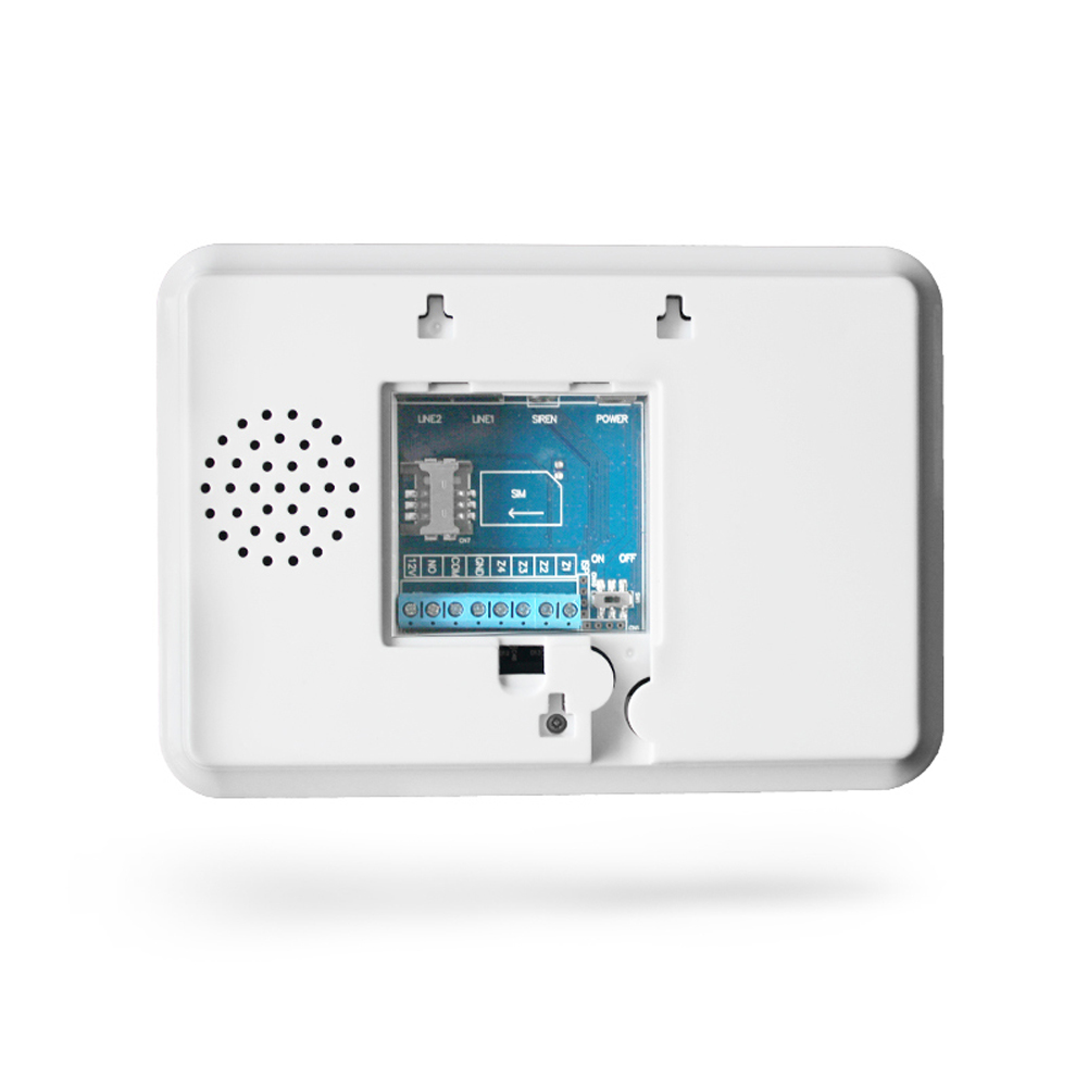 Wireless Touch Pstn Gsm Dual Network Intelligent Anti Theft Alarm An Expandable Multi Zone Modular Burglar 1 Lcd Large Screen Blue Backlit Display Voice Prompts Easy To Operate And Compatible With Double Insurance More Secure Stable
