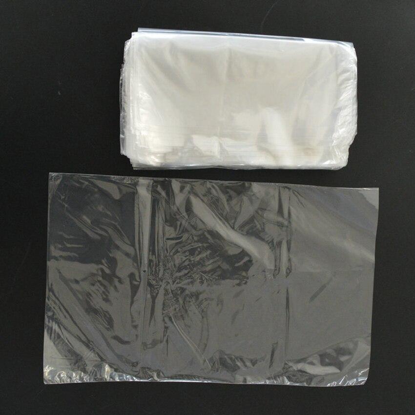 Transparent Shrink Wrap Film Bag Heat Seal Gift 11x15cm Pack of 300