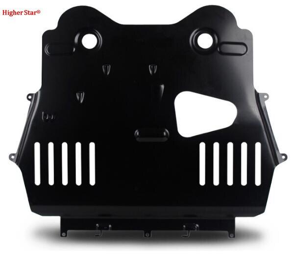 Plaque de dérapage de moteur de voiture en acier étoile supérieure, panneau inférieur de moteur, protection contre les éclaboussures, plaque de protection de moteur pour Citrone C5 Aircross 2018